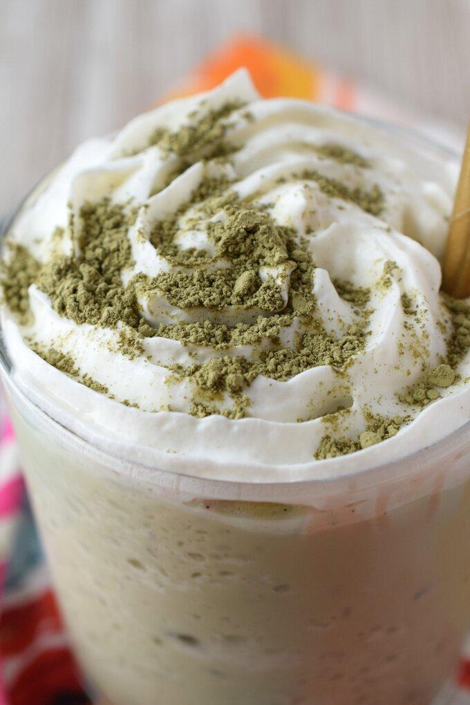 Green Tea Frappuccino Starbucks Copycat