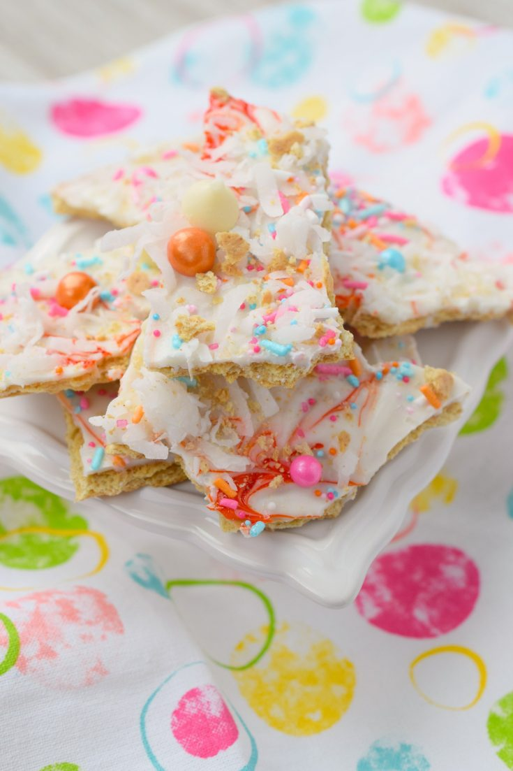 Tropical White Chocolate Bark