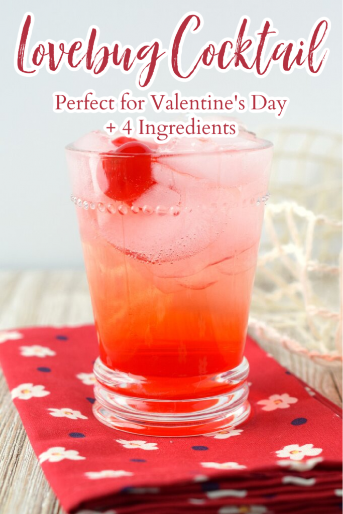 Cocktails for Valentine's Day