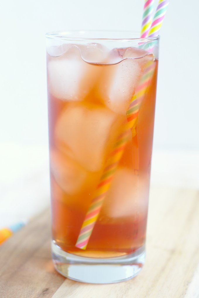 3d12ae01fcd Bellini Peach Raspberry Iced Tea {Olive Garden Copycat} – A delicious and  refreshing summer drink that tastes just like the version from Olive Garden!