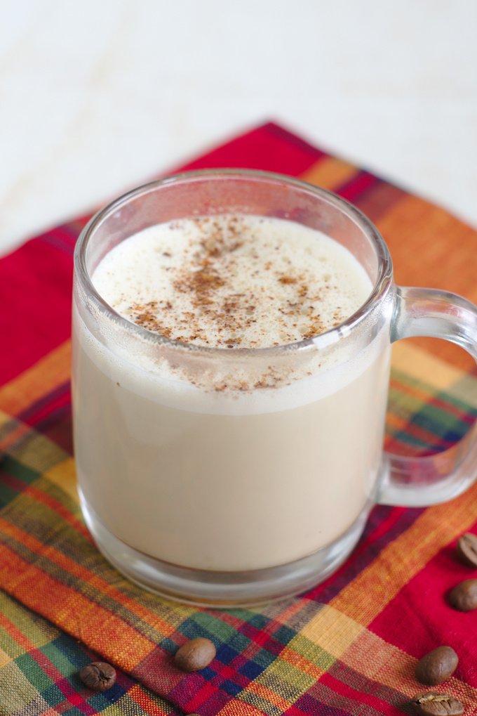 Starbucks Copycat Eggnog Latte