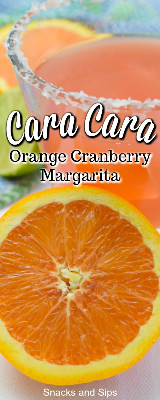 Make a delicious and easy to make Cara Cara Orange Cranberry Margarita for your next event. A fantastic cocktail with some really great flavors!