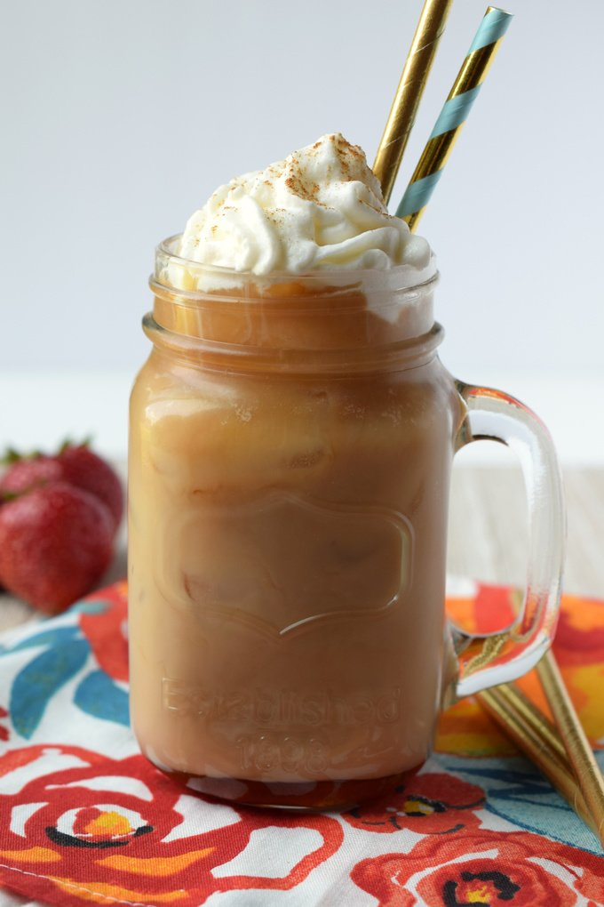 Cinnamon Dolce Iced Latte Starbucks Copycat