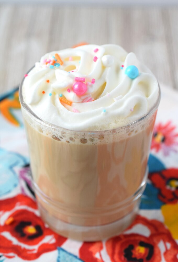 Vanilla Latte Starbucks Copycat