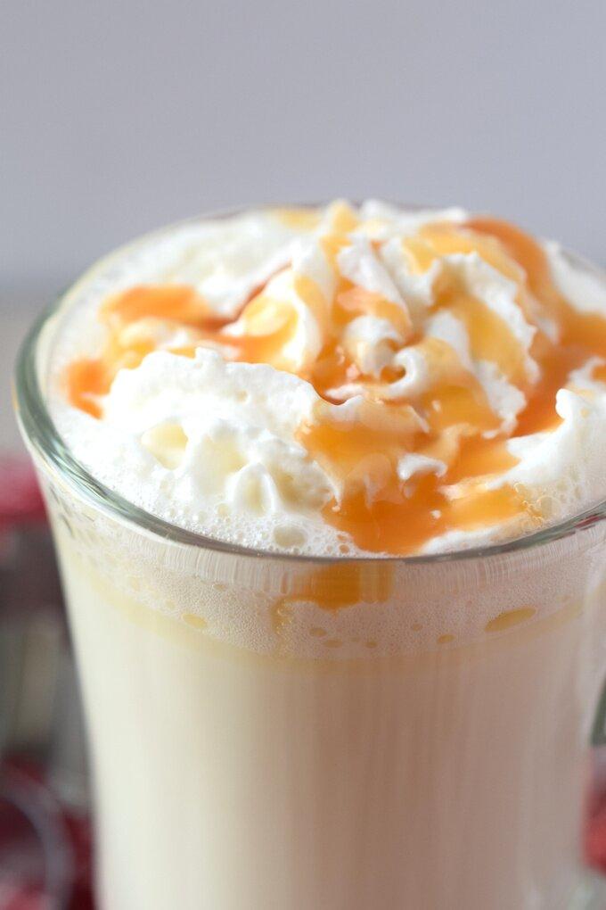 Starbucks Copycat White Hot Chocolate