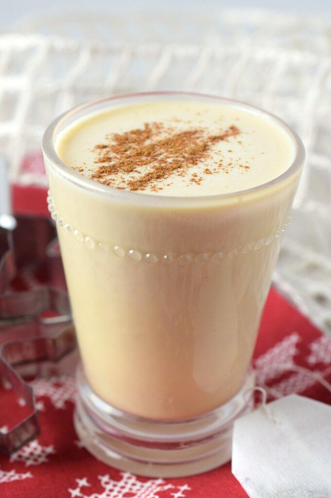 Chai Eggnog Latte