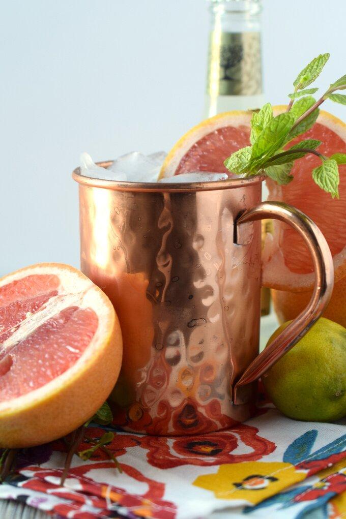 Grapefruit Moscow Mule Recipe
