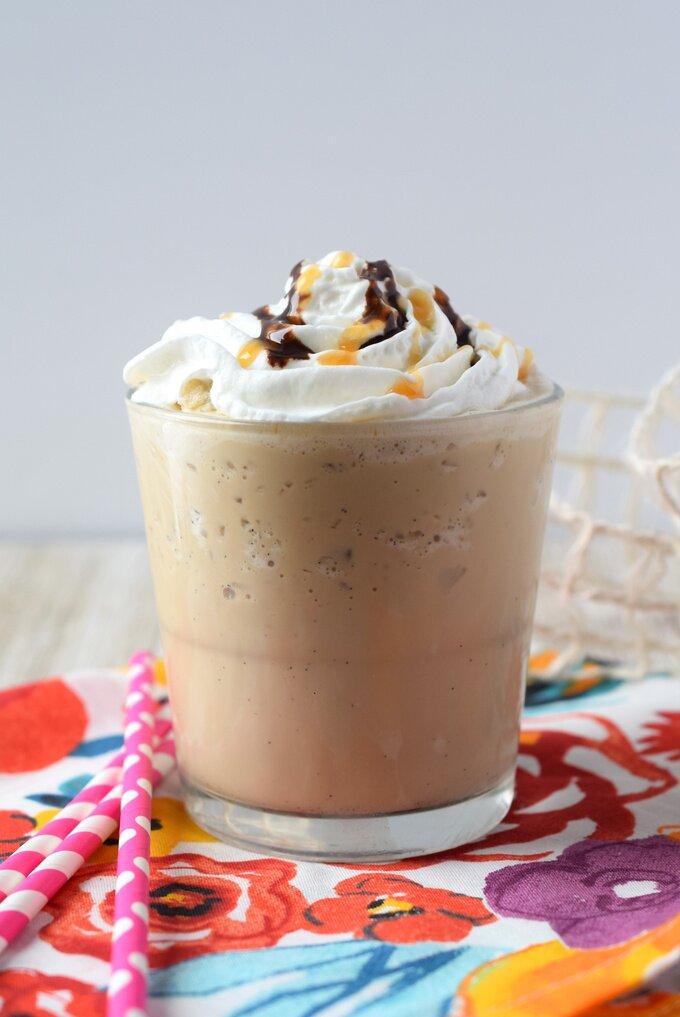 Caramel Mocha Frappuccino