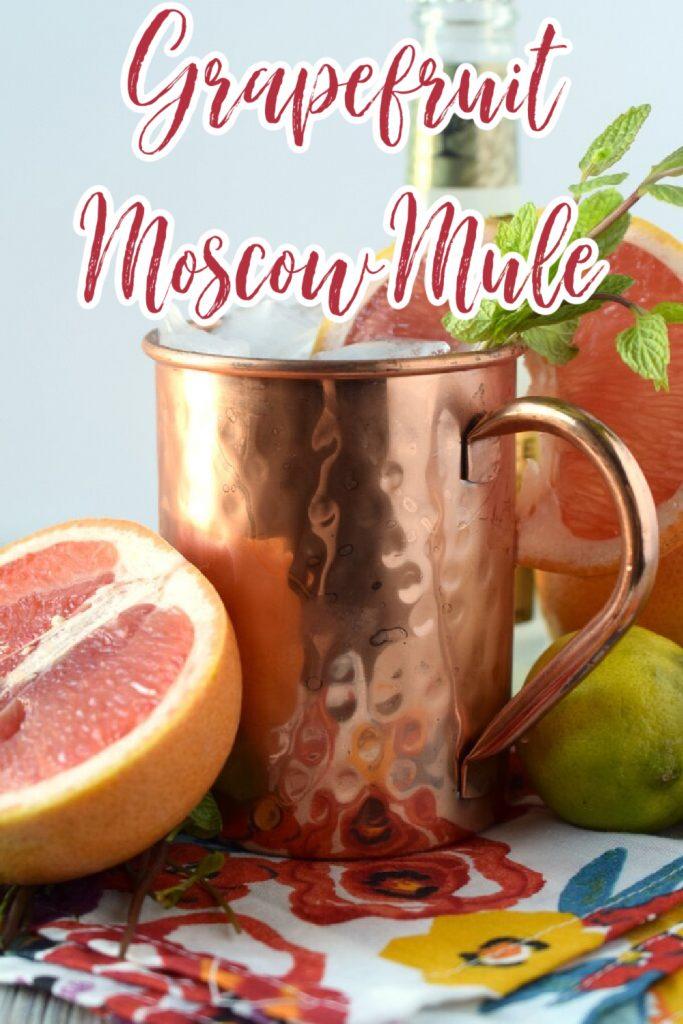 Easy Grapefruit Moscow Mule Recipe