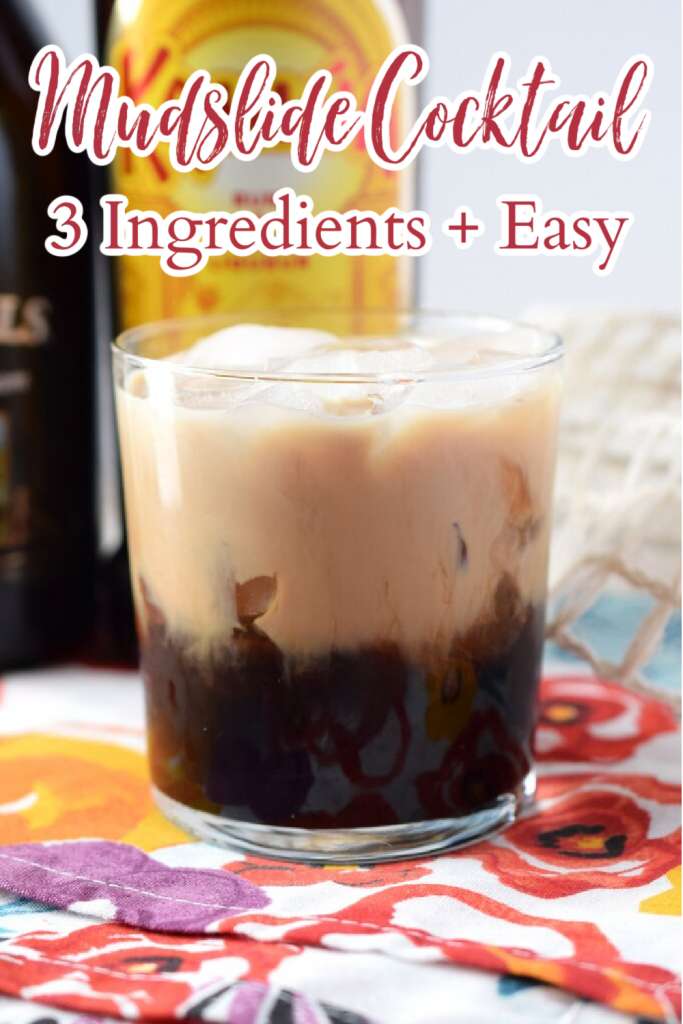 Mudslide Cocktail Recipe