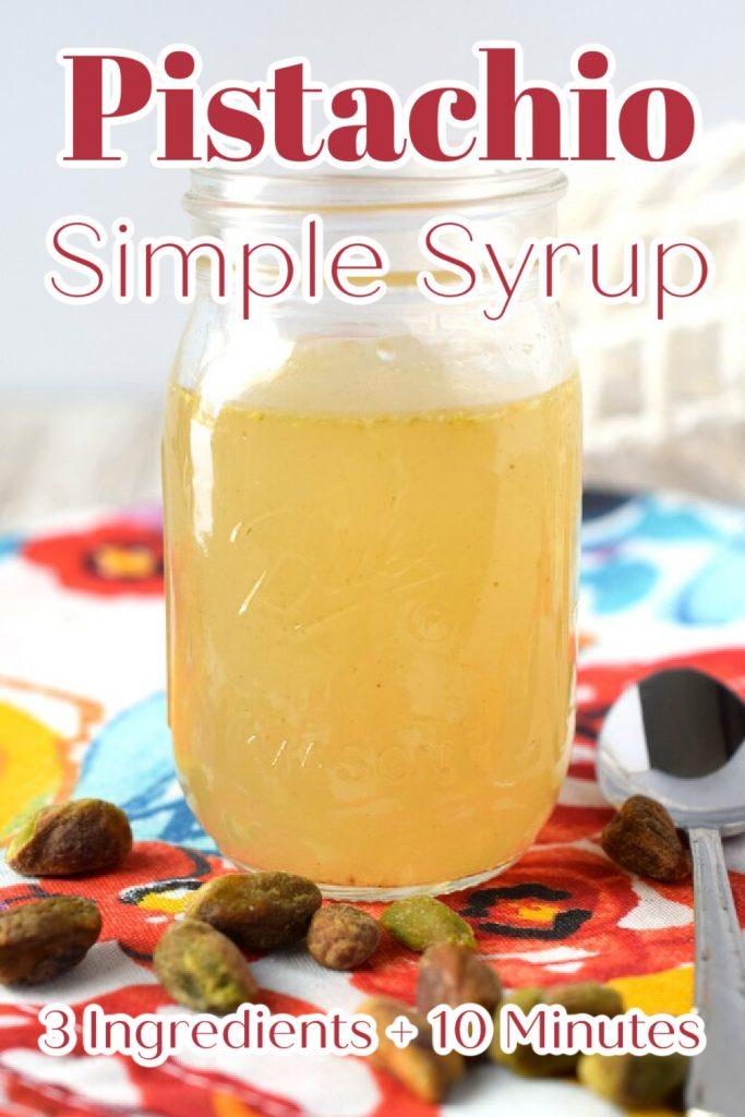 Pistachio Syrup Recipe