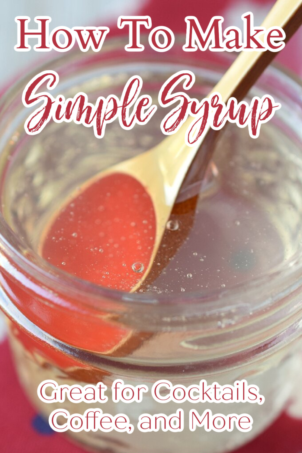 Homemade Simple Syrup