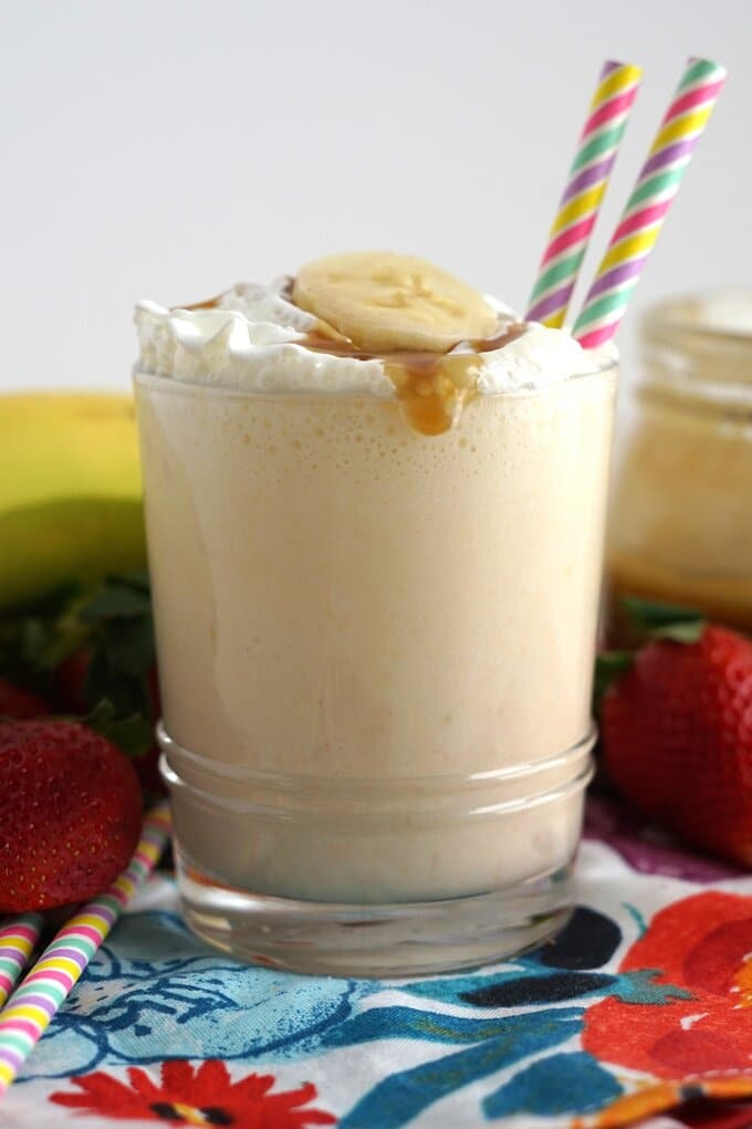 Banana Milkshake Recipe