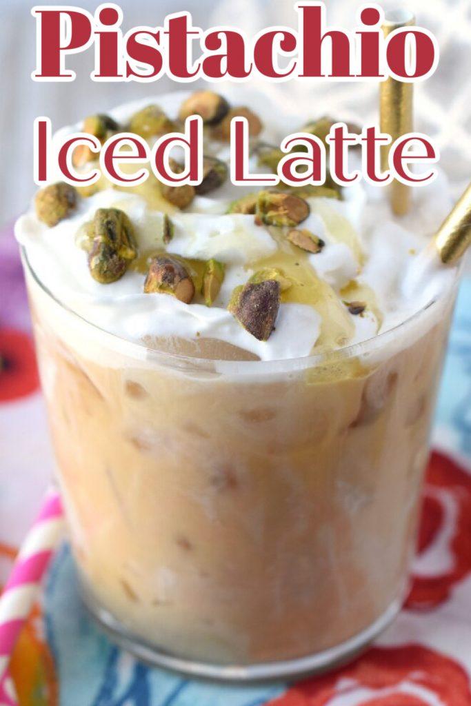 Pistachio Iced Latte Recipe