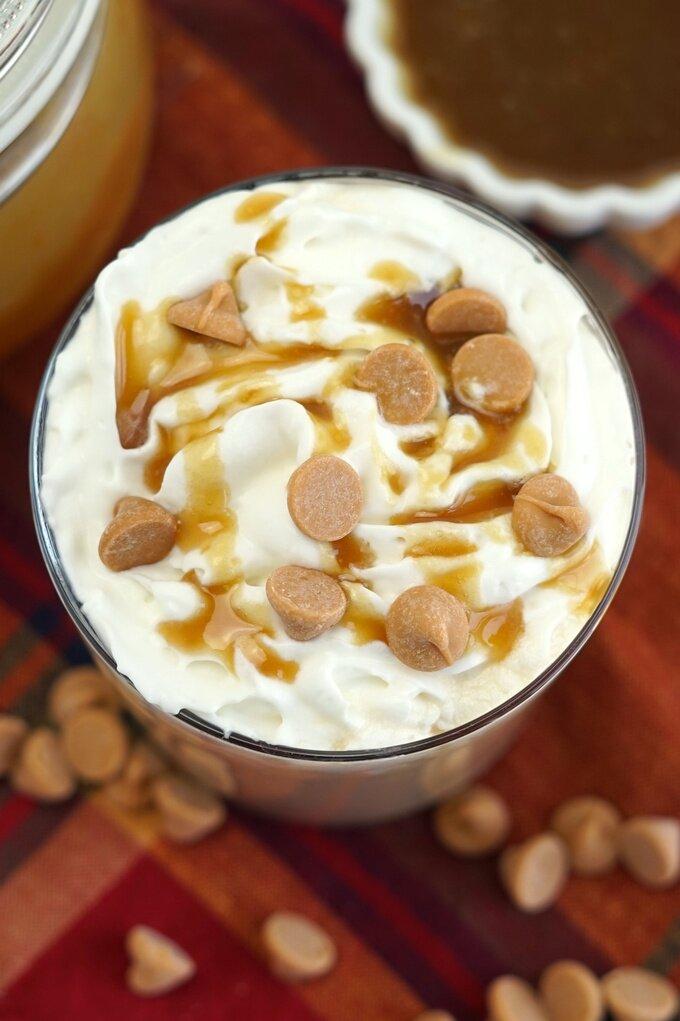 Homemade Butterscotch Latte