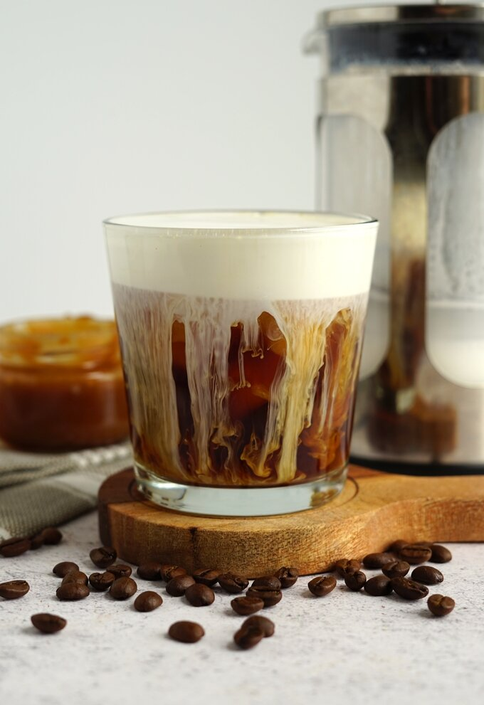 Salted Caramel Cream Cold Brew