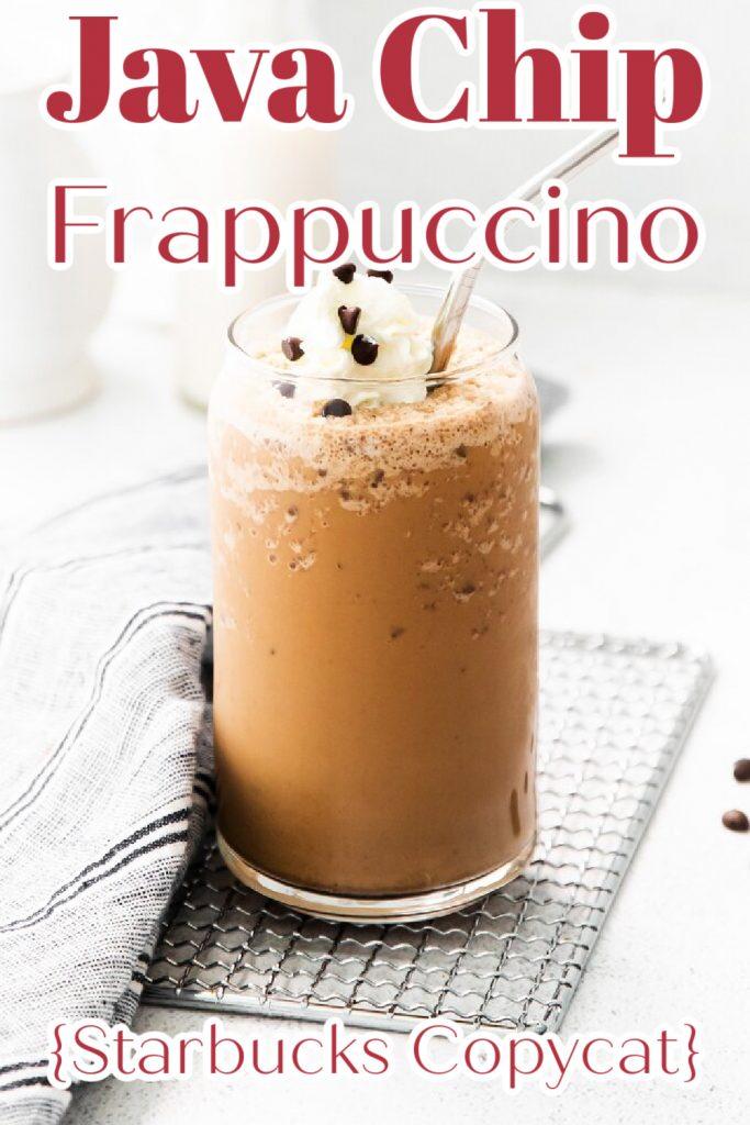 Java Chip Frappuccino