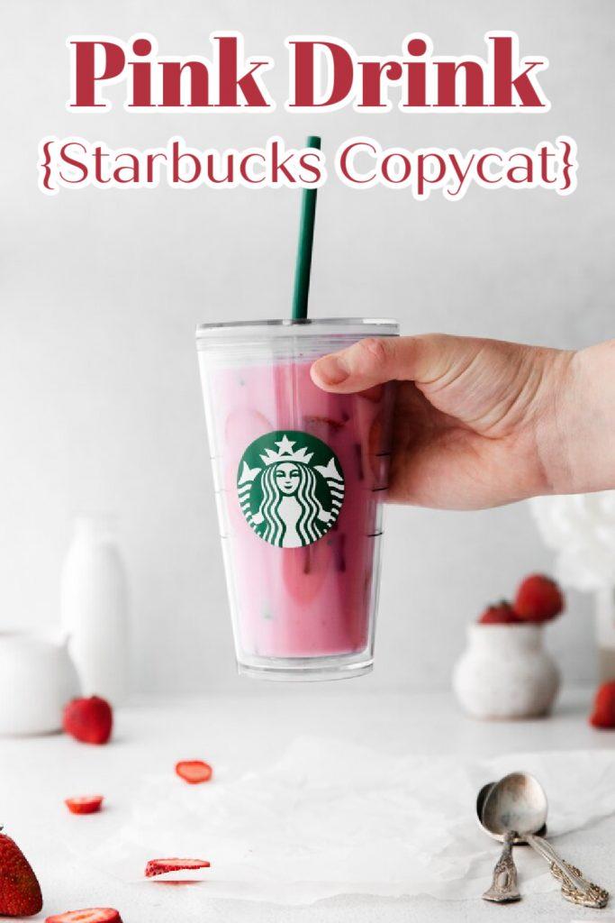 Pink Drink {Starbucks Copycat}